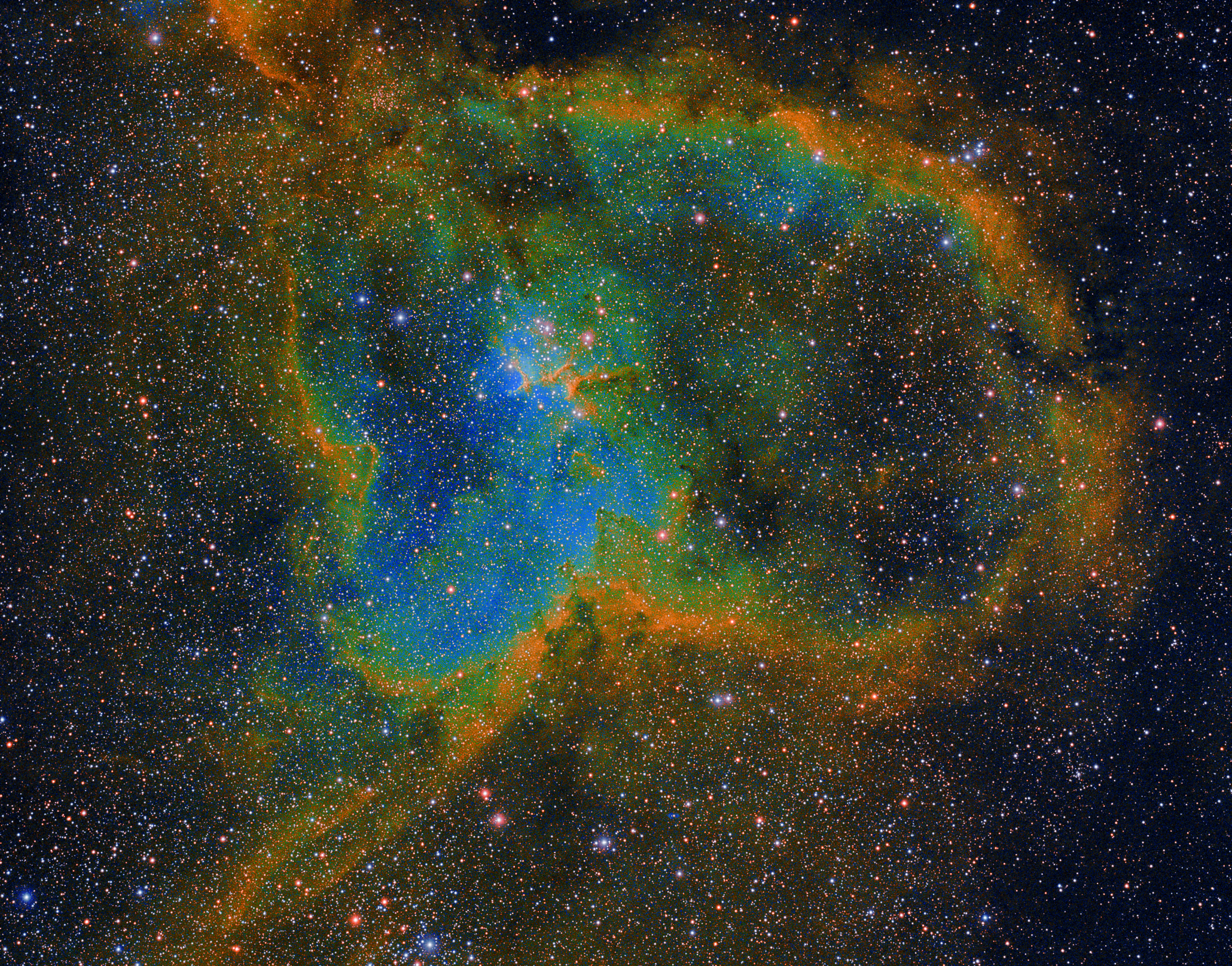 Heart Nebula in HSO