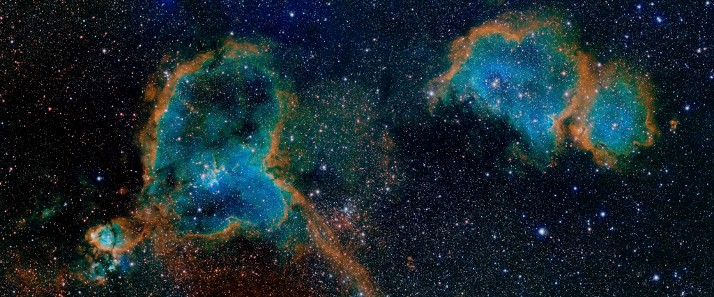 Heart & Soul Nebulae in HSO