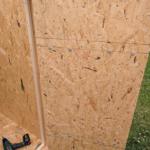 Door construction (rear) plus rain seal