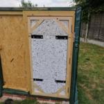 Door construction (front)