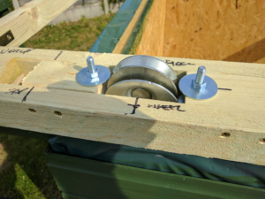 Wheel mounting top